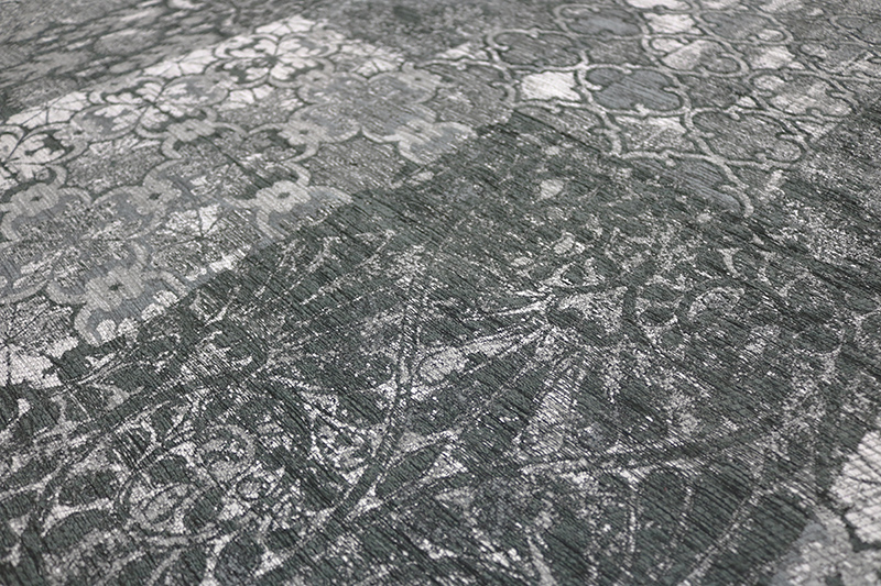 Stunning Silver Terrazzo Detail